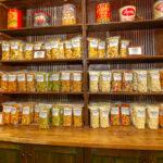 variety of popcorn on display