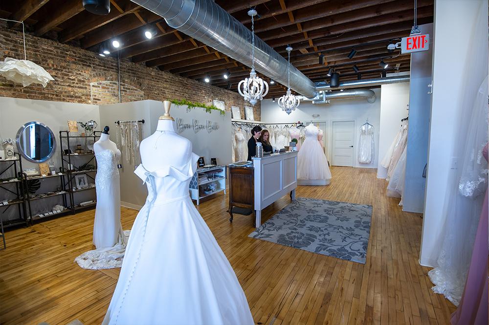 Inside Bon Bon Belle Bridal Boutique