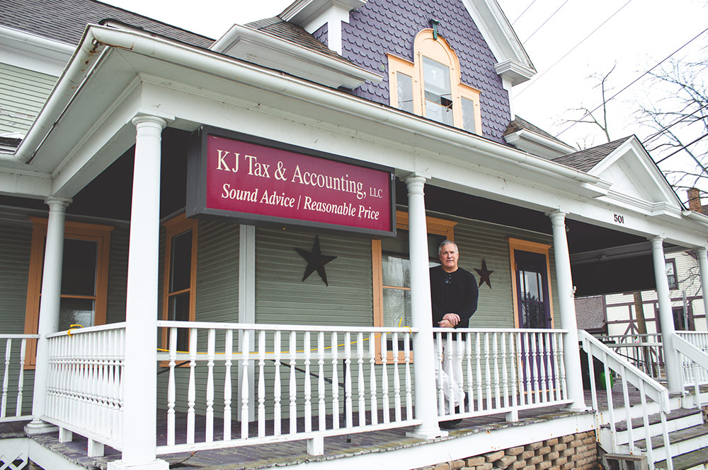 Jim Filicetti, owner of KJ Tax & Accounting in Waterford