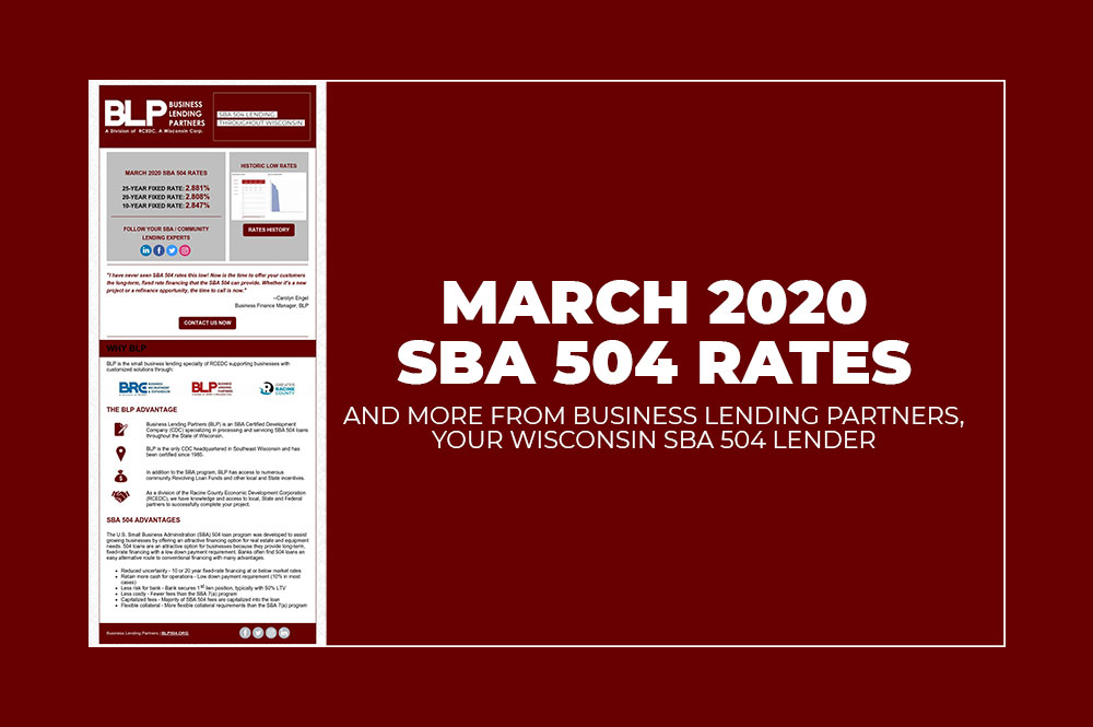 BLP March 2020 SBA Rates