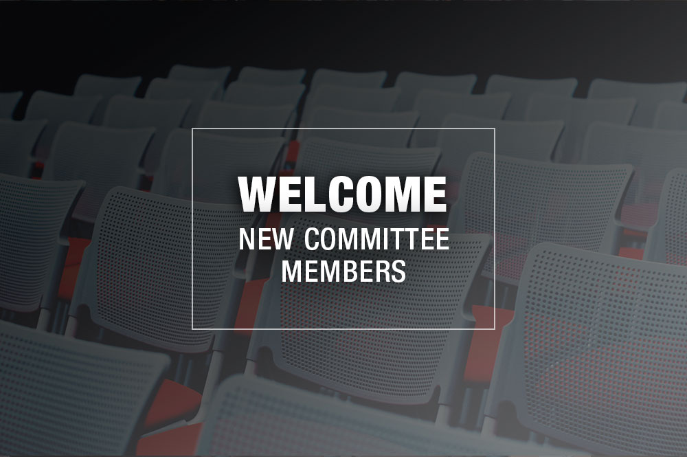 welcome new committee members