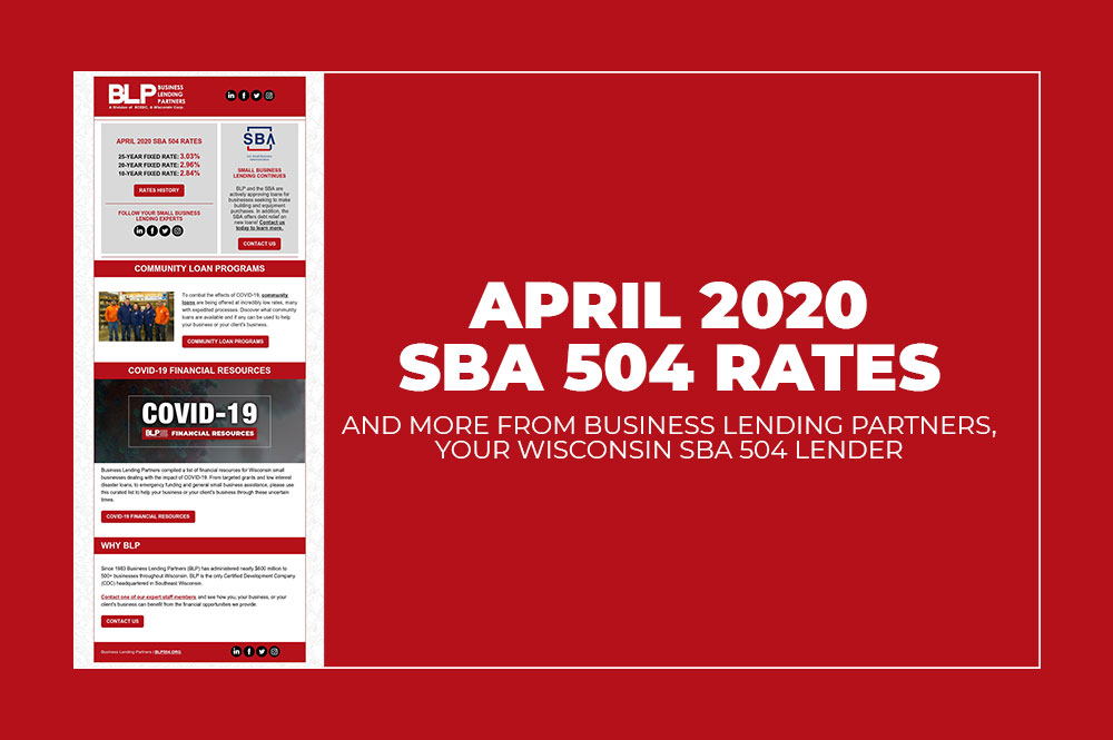 BLP April 2020 SBA 504 Rates
