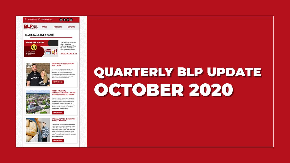 October 2020 BLP Update